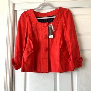 NWT TOPSHOP red blazer sz 12